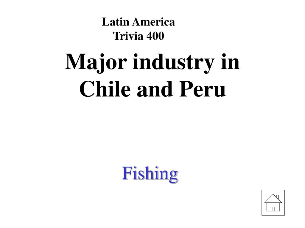 Latin America Trivia 400