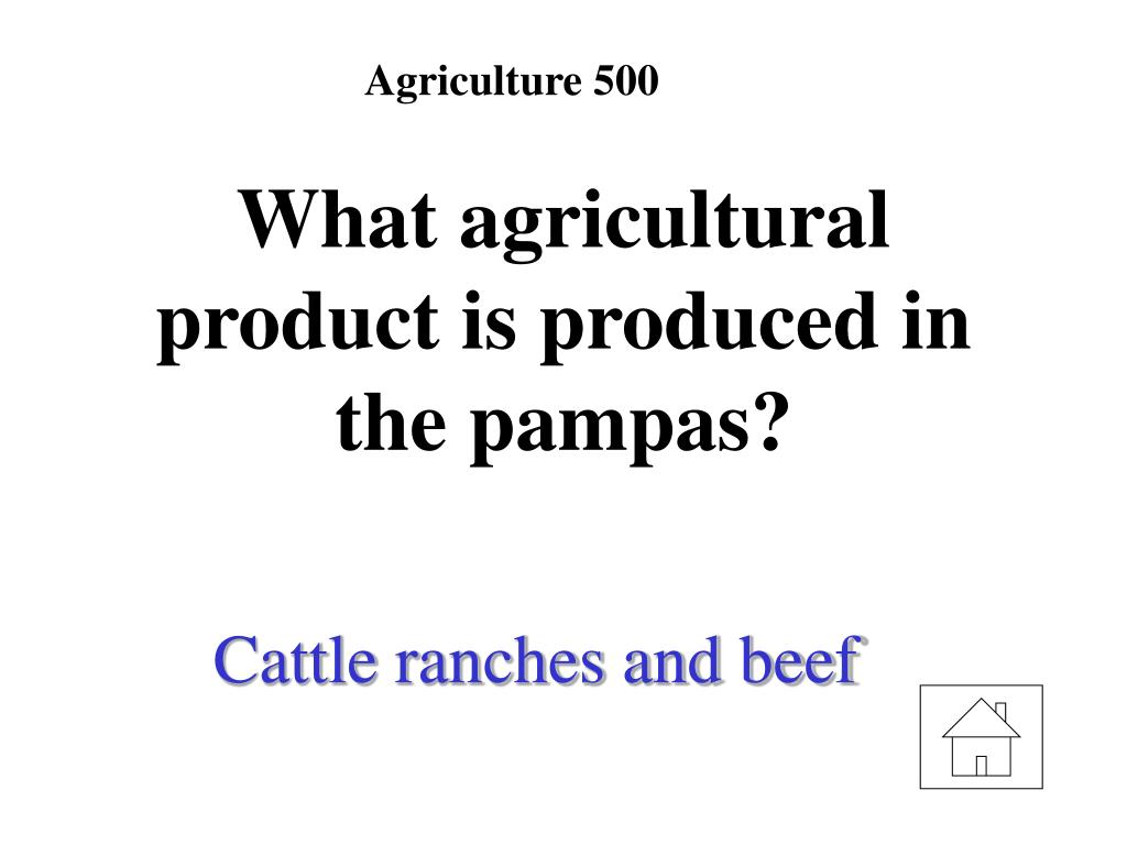 Agriculture 500