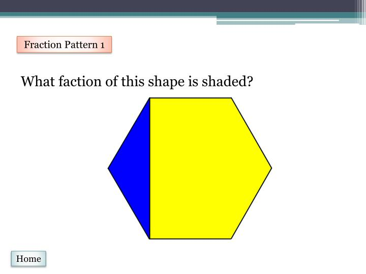 Fraction Pattern 1