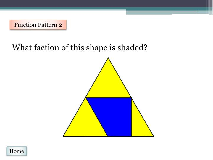 Fraction Pattern 2