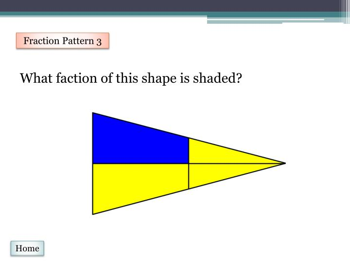 Fraction Pattern 3