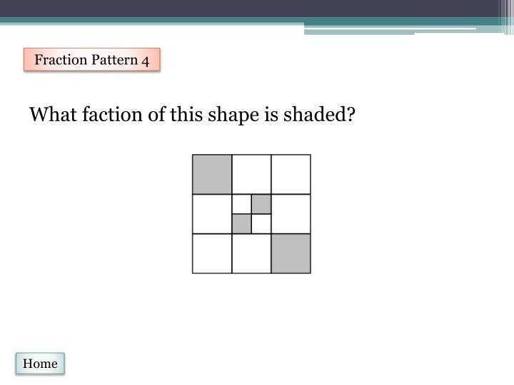 Fraction Pattern 4