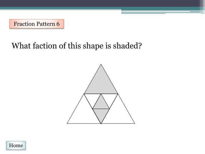 Fraction Pattern 6