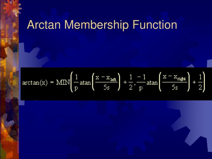 Arctan Membership Function