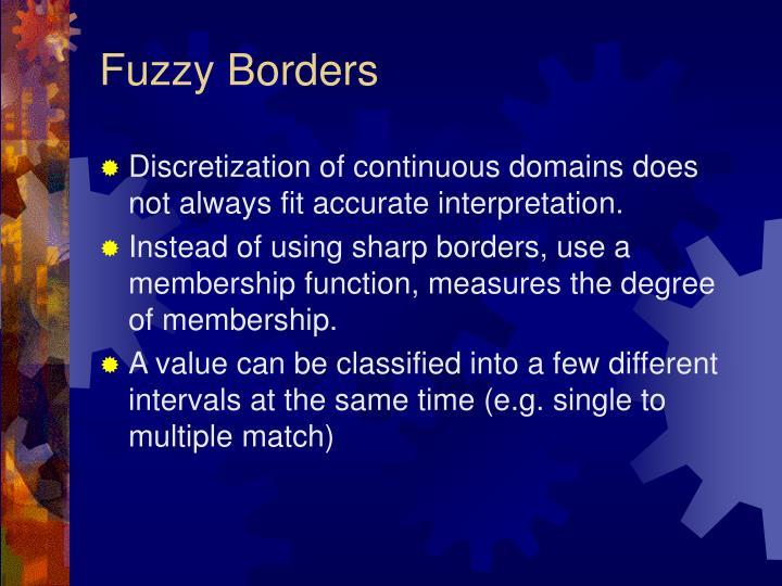 Fuzzy Borders
