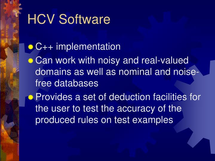 HCV Software