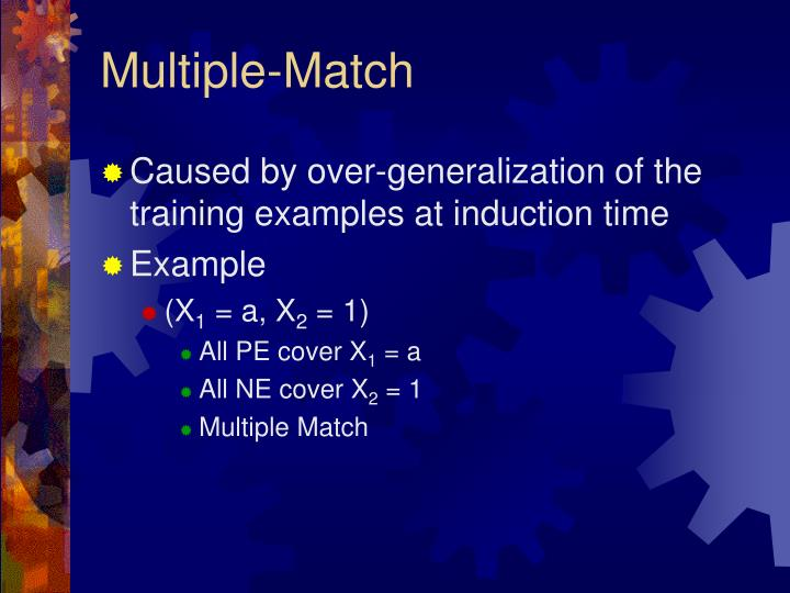 Multiple-Match