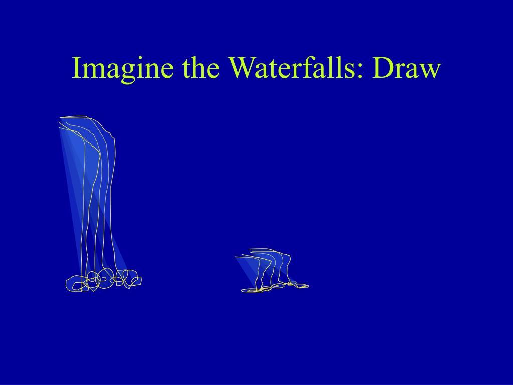 Imagine the Waterfalls: Draw