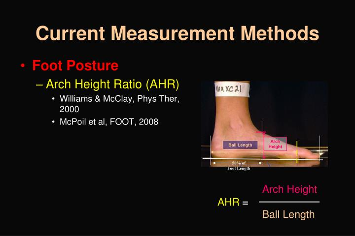Arch Height
