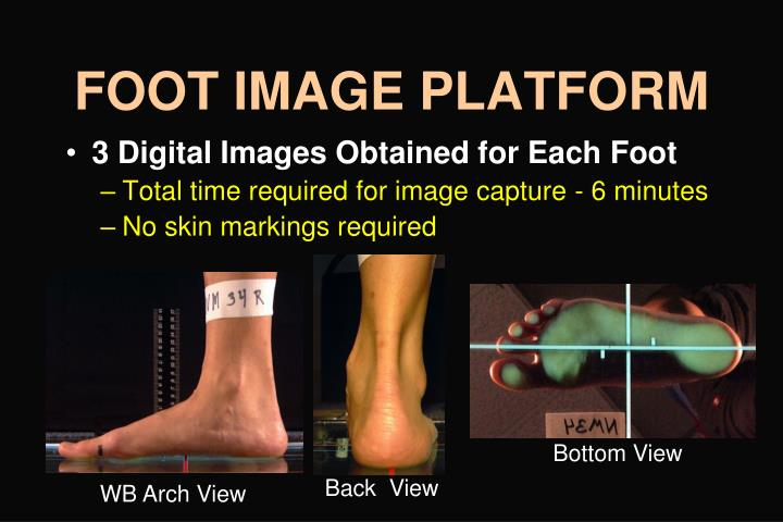 FOOT IMAGE PLATFORM