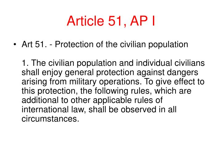 Article 51, AP I
