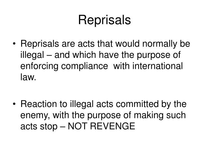 Reprisals
