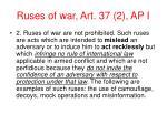 ruses of war art 37 2 ap i