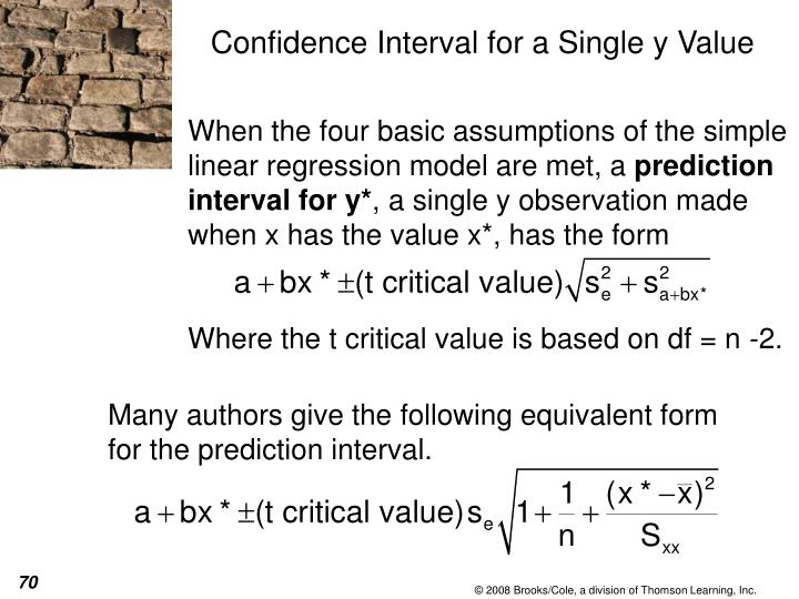 When the four basic assumptions of the simple linear regression model are met, a