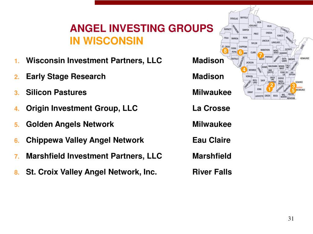 ANGEL INVESTING GROUPS