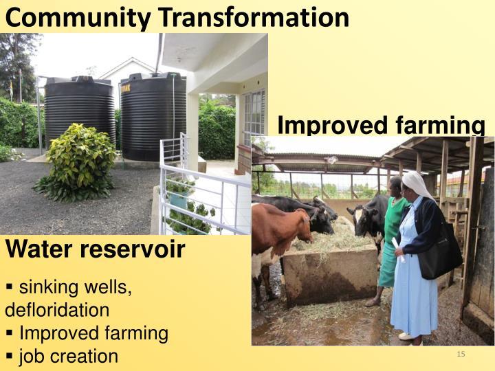 Community Transformation