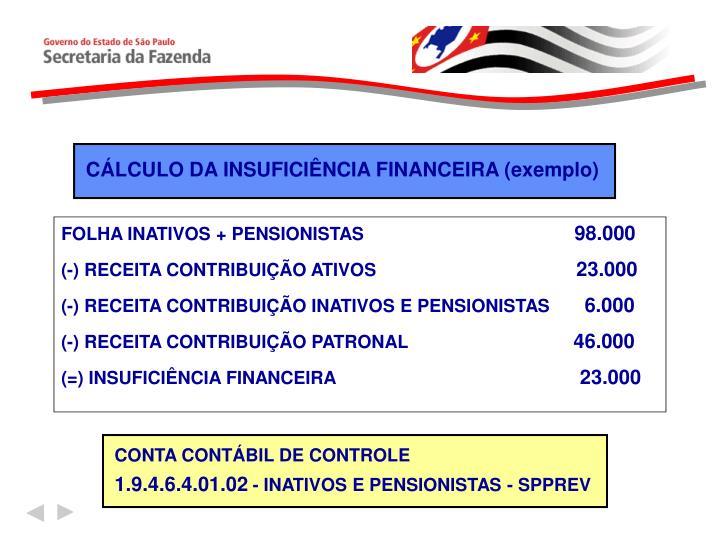 FOLHA INATIVOS + PENSIONISTAS