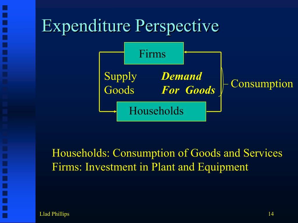 Expenditure Perspective