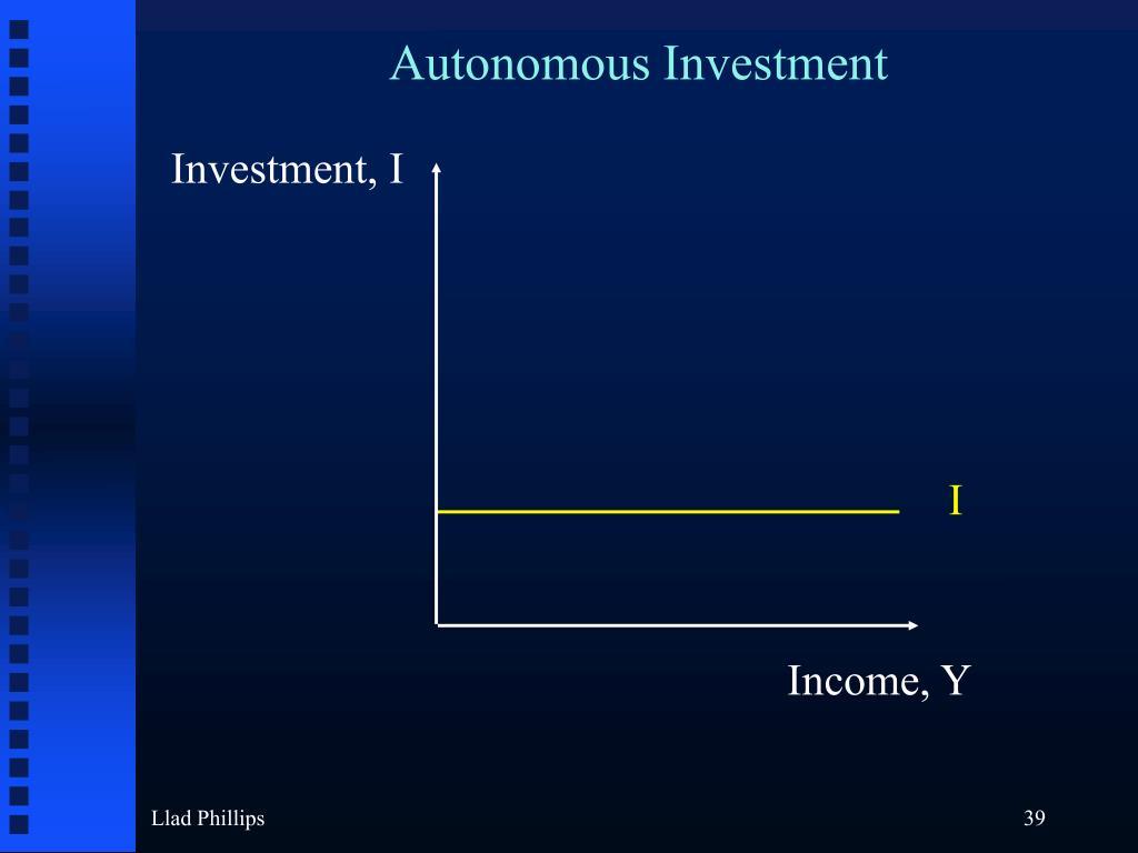 Autonomous Investment