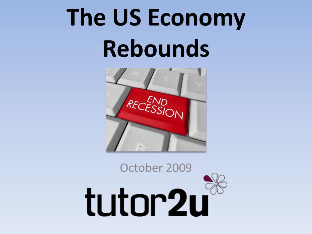 The US Economy Rebounds
