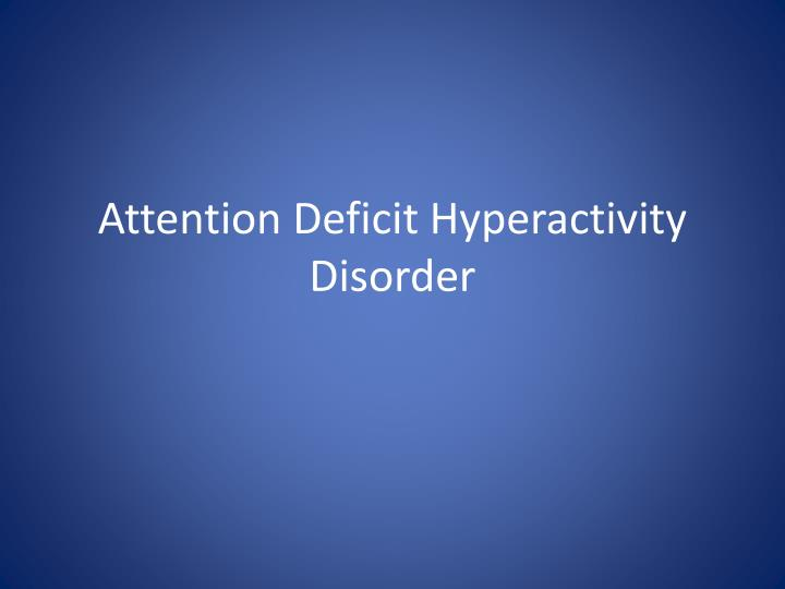 attention deficit hyperactivity disorder in todays society Lots of kids with adhd have trouble functioning in modern society  what if it  were structured so that having adhd was actually an advantage.