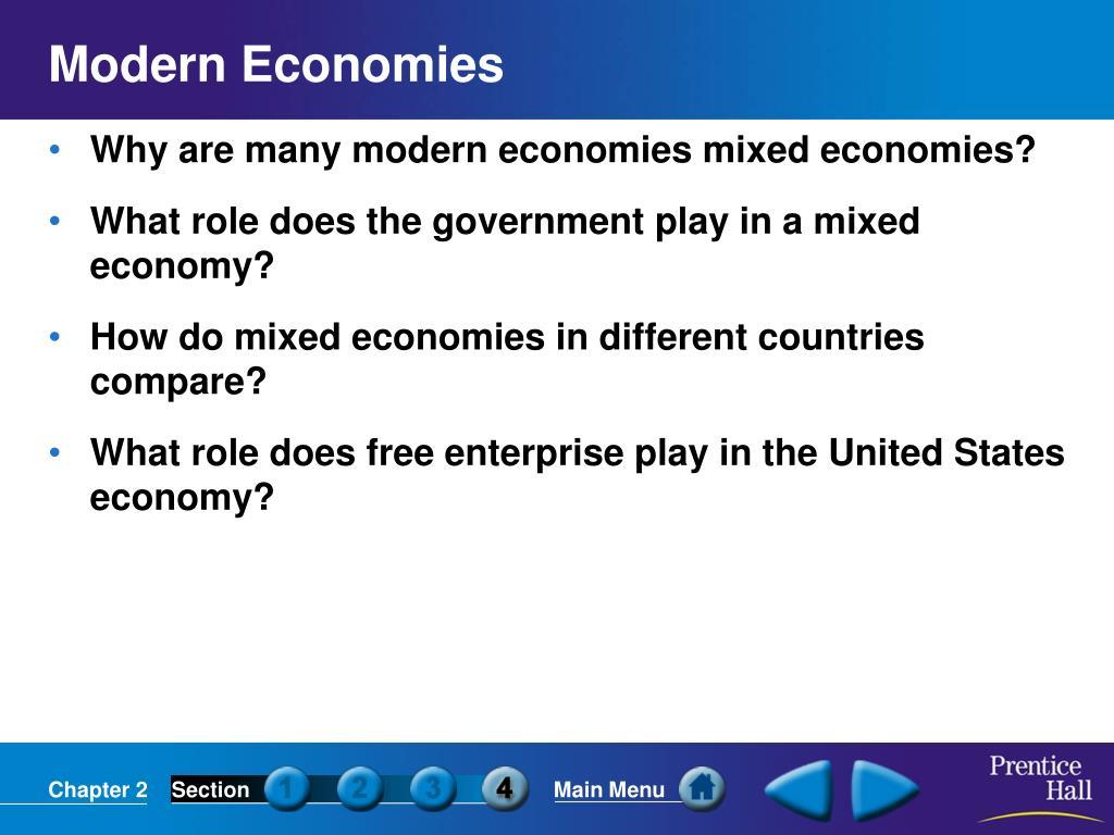 Modern Economies