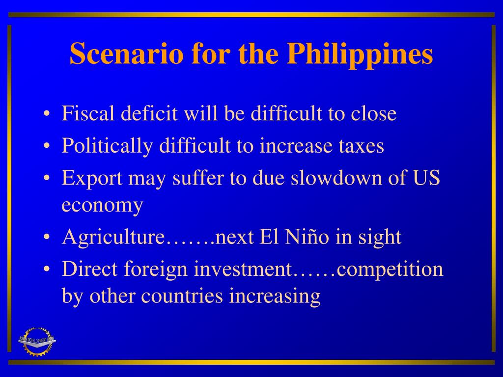 Scenario for the Philippines