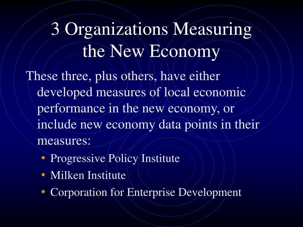 3 Organizations Measuring
