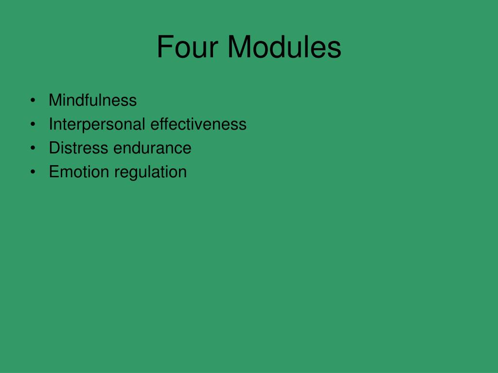 Four Modules