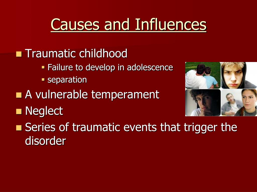 Causes and Influences