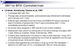 dbt for bpd controlled trials