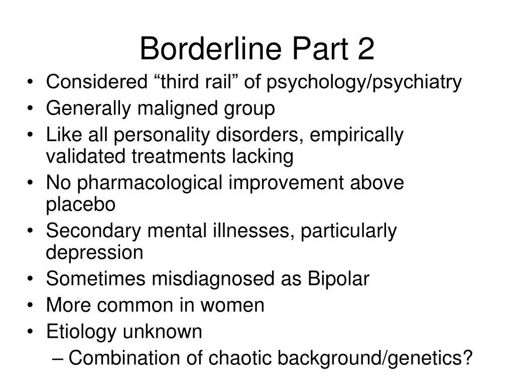 Borderline Part 2