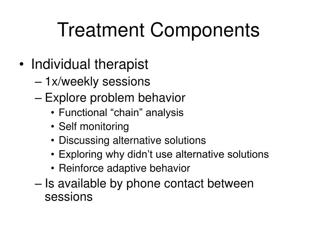 Treatment Components