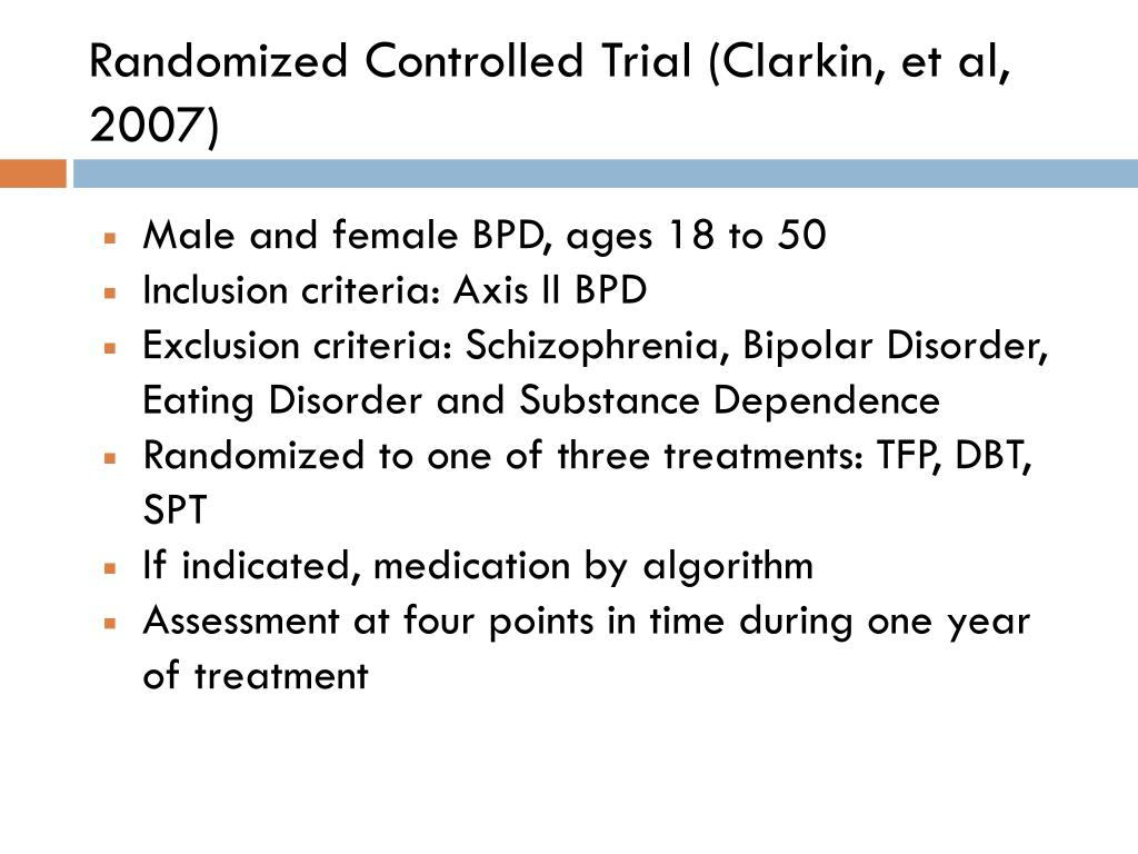 Randomized Controlled Trial (