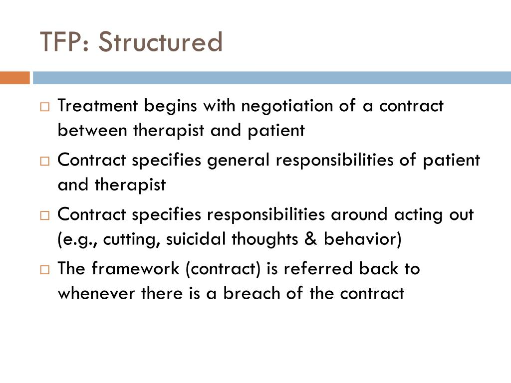 TFP: Structured