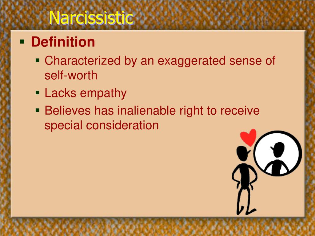 Narcissistic