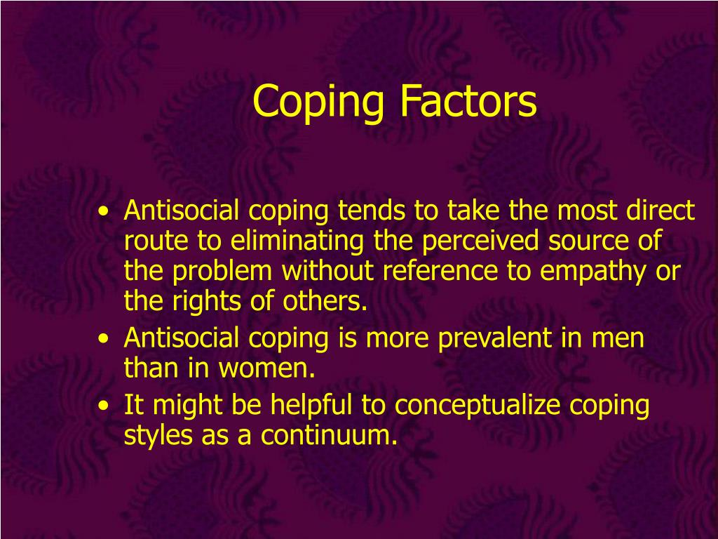 Coping Factors