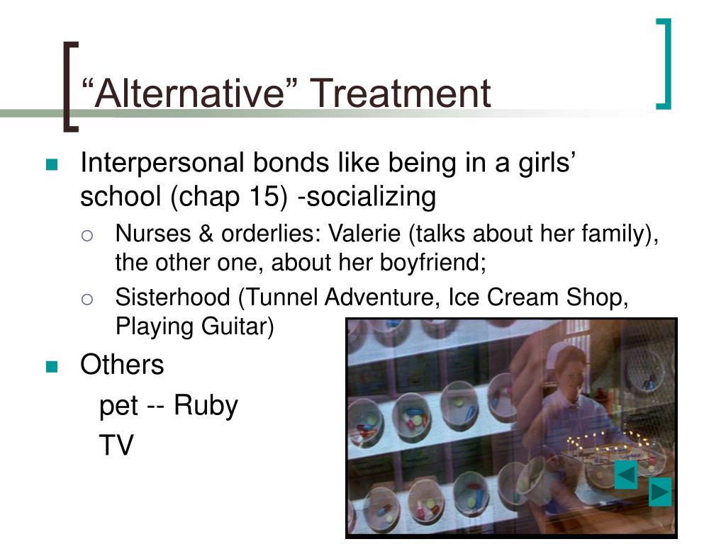 """""""Alternative"""" Treatment"""
