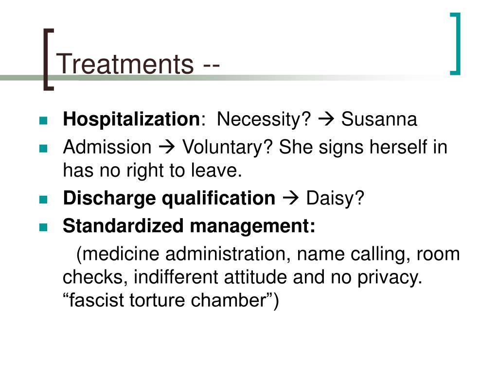 Treatments --