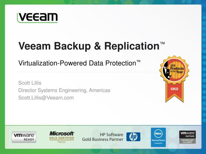 Veeam backup replication