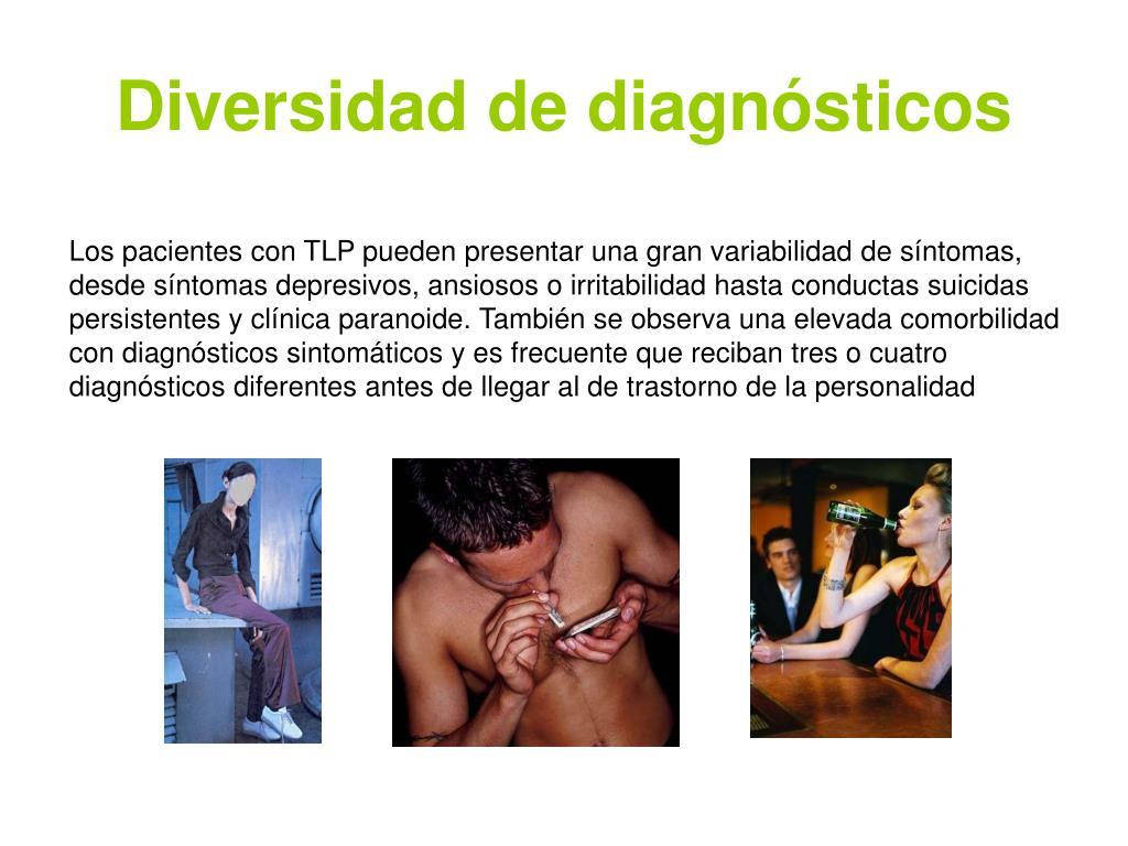 Diversidad de diagnósticos