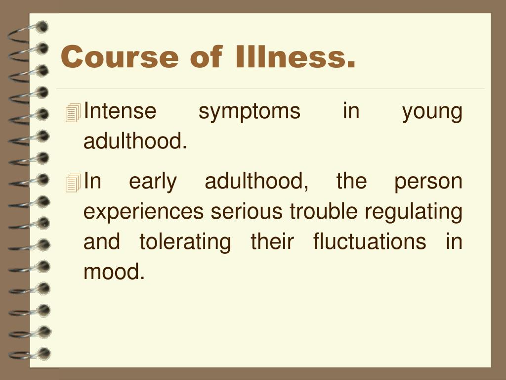 Course of Illness.