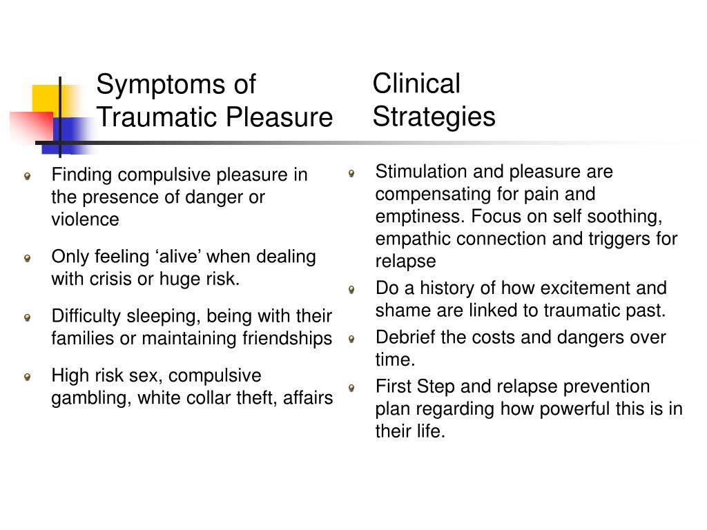 Finding compulsive pleasure in the presence of danger or violence