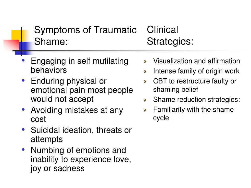 Engaging in self mutilating behaviors