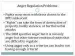 anger regulation problems