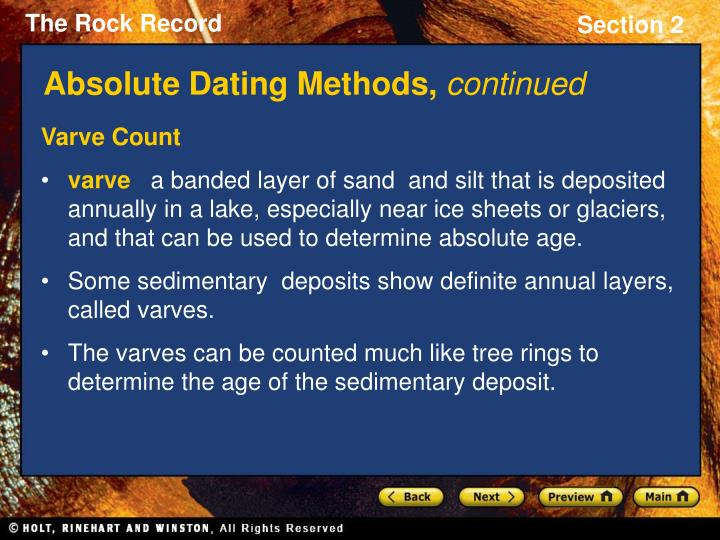 difference between relative and absolute dating methods There are two main types of fossil dating, relative dating and absolute dating fossils – how are fossils dated or fossil through radiometric dating methods.