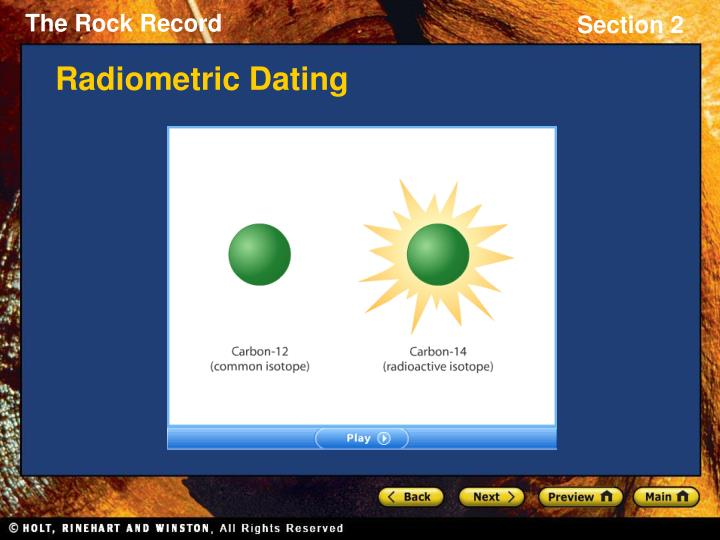 Absolute age dating isotopes 5