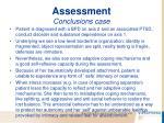 assessment conclusions case