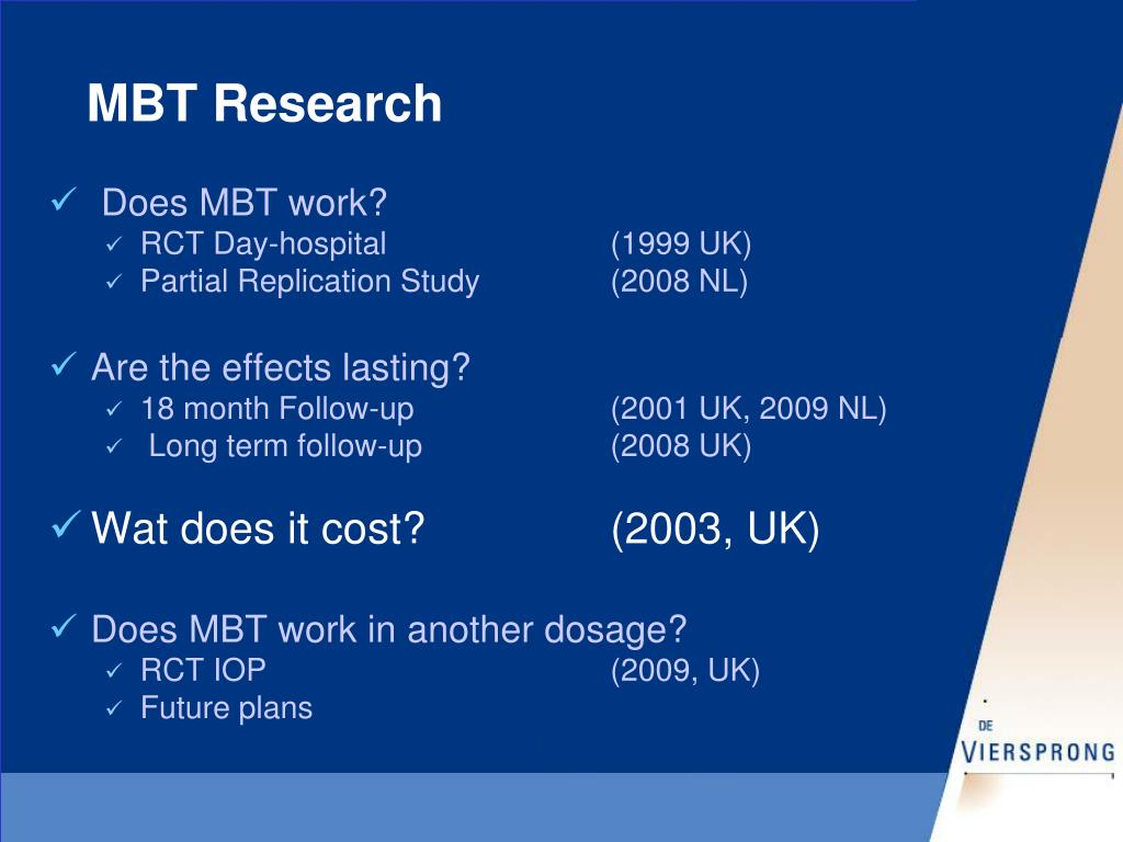 MBT Research