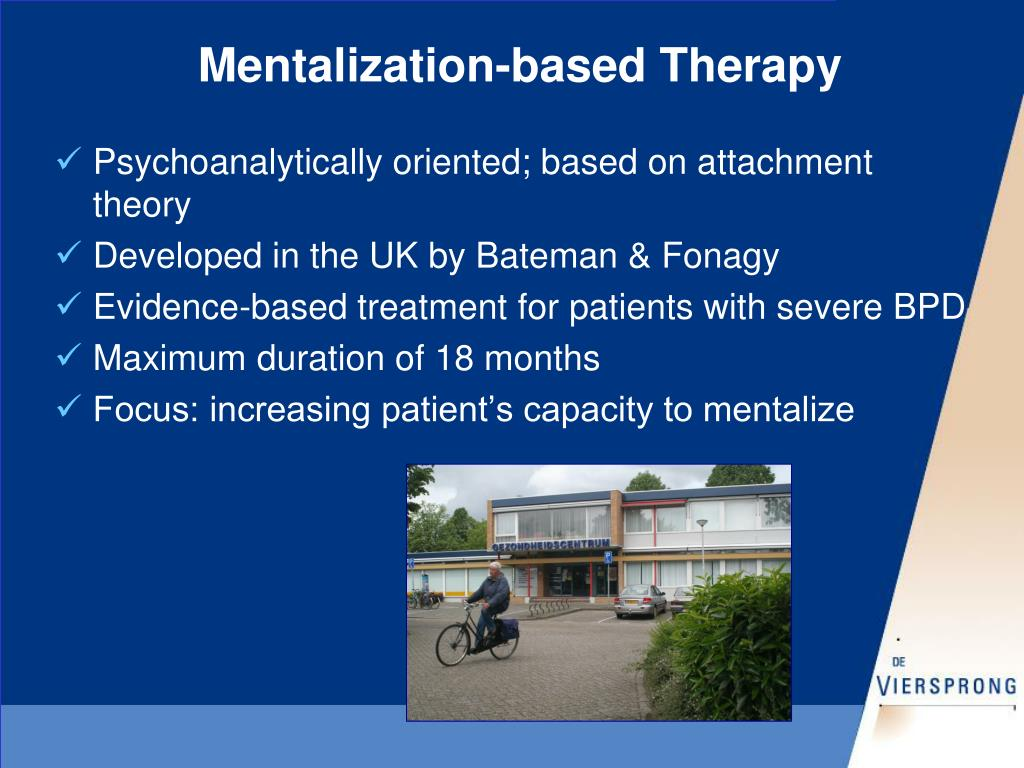 Mentalization-based Therapy